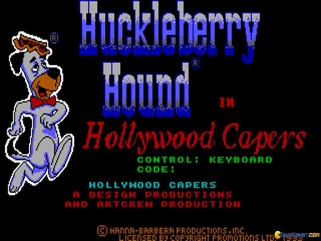 Huckleberry Hound - title cover