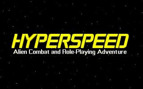Hyperspeed - game cover