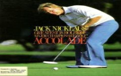 Jack Nicklaus - title cover