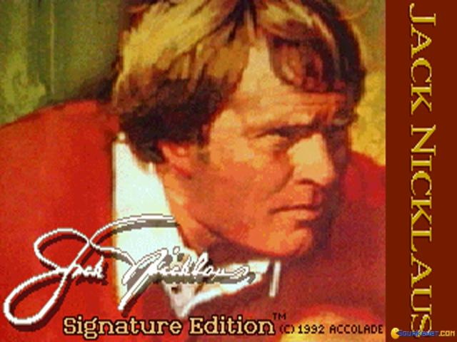 Jack Nicklaus Signature Edition - game cover