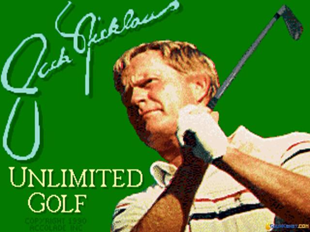 Jack Nicklaus' Unlimited Golf - title cover