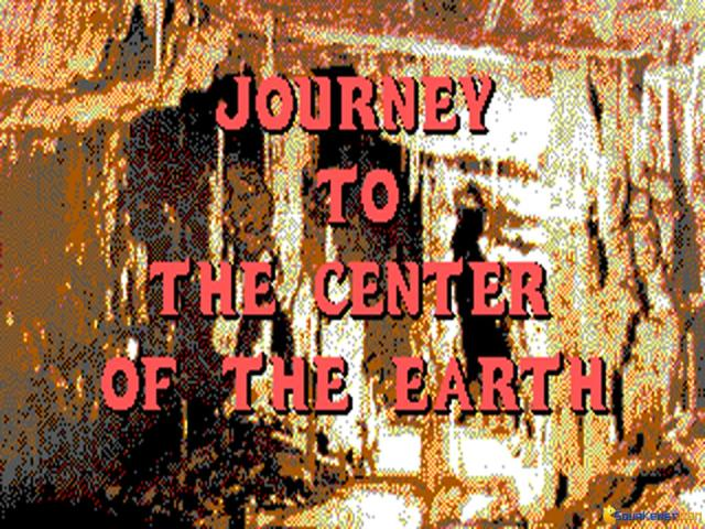 Journey to The Center of The Earth - title cover