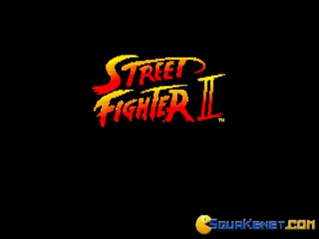 Street Fighter 2 - game cover
