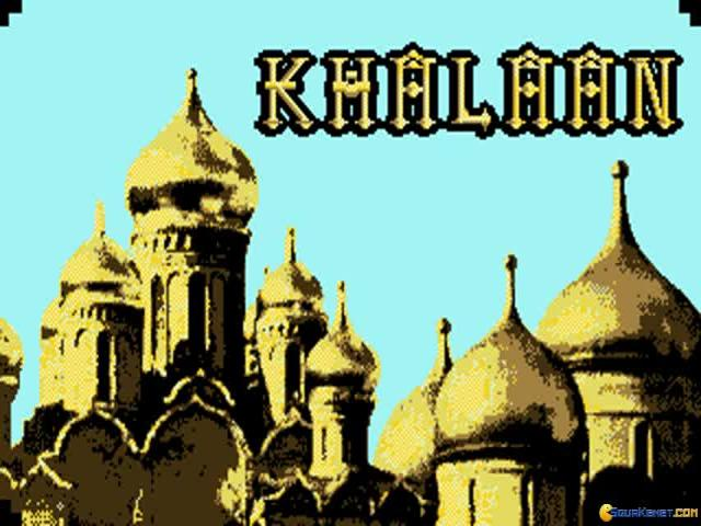 Khalaan - game cover