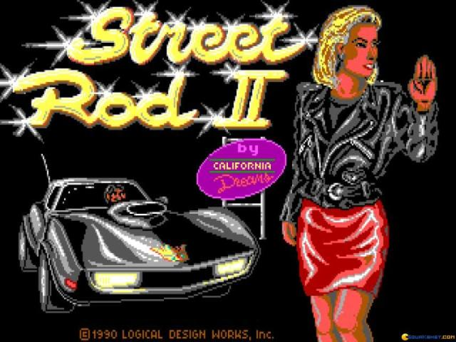Street Rod 2 - title cover