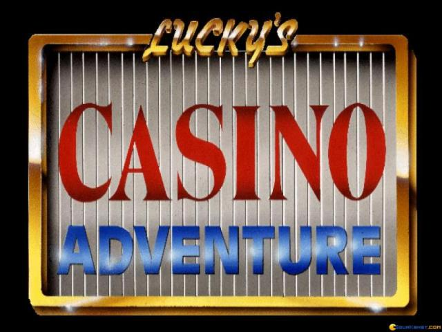 Lucky's Casino - title cover