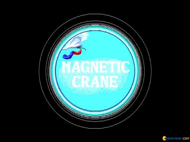 Magnetic Crane - title cover