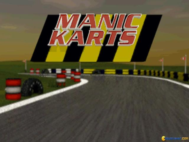 Manic Karts - game cover