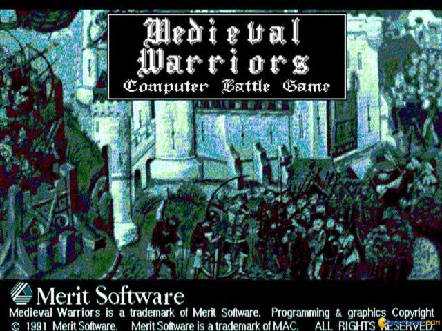 Medieval Warriors - title cover