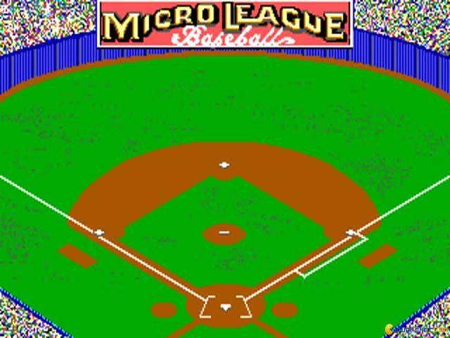 Micro League Baseball 2 - title cover