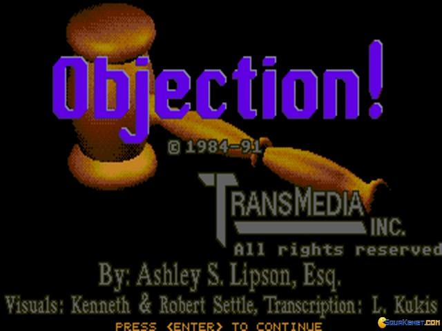Objection! - title cover