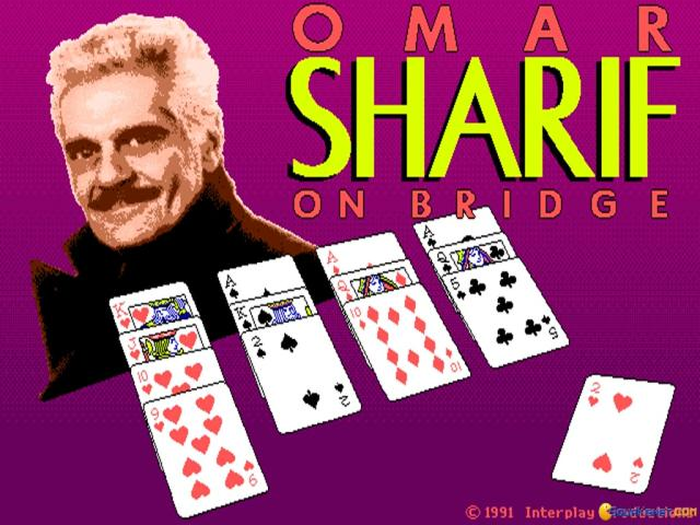 Omar Sharif on Bridge - title cover