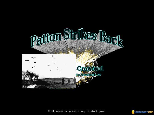 Patton Strikes Back - title cover