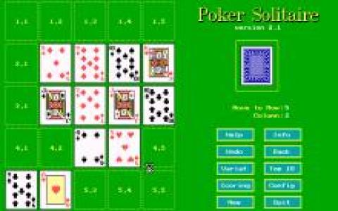 Poker Solitaire - title cover