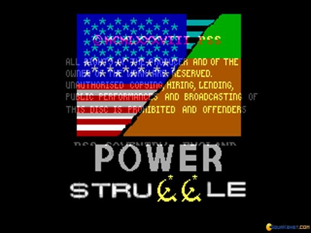 Power Struggle - title cover
