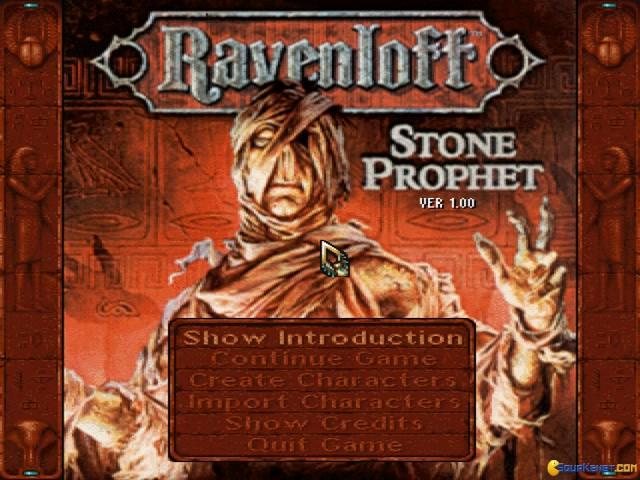 Ravenloft 2: The Stone Prophet - title cover