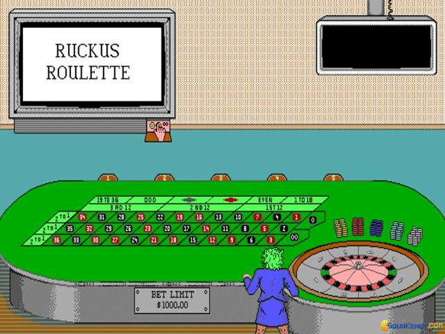 Ruckus Roulette - title cover