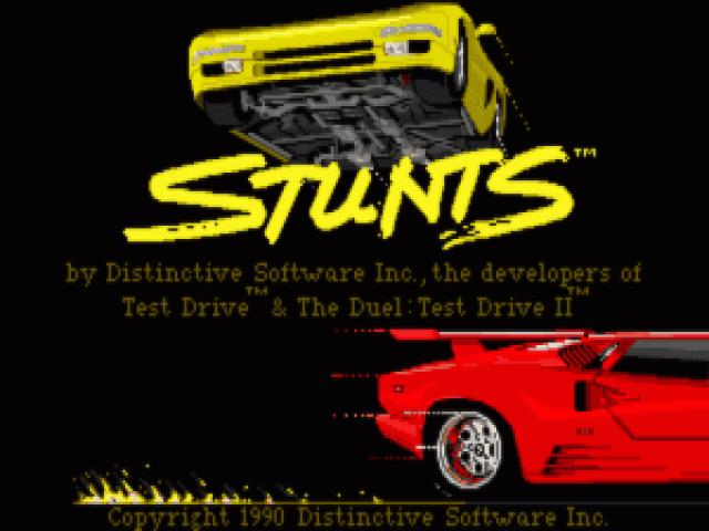 Stunts - game cover