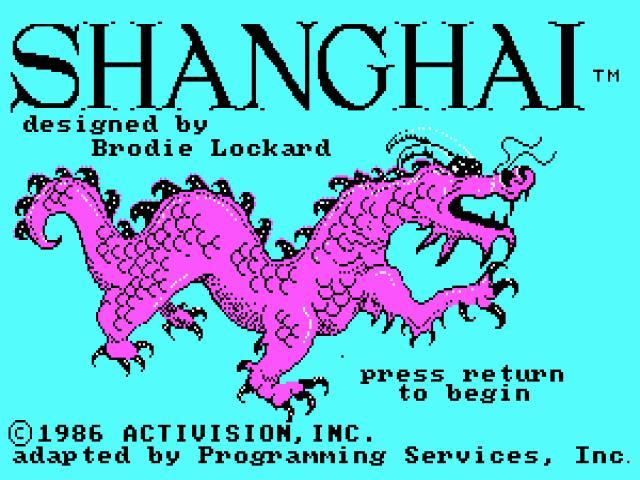 Shanghai - title cover