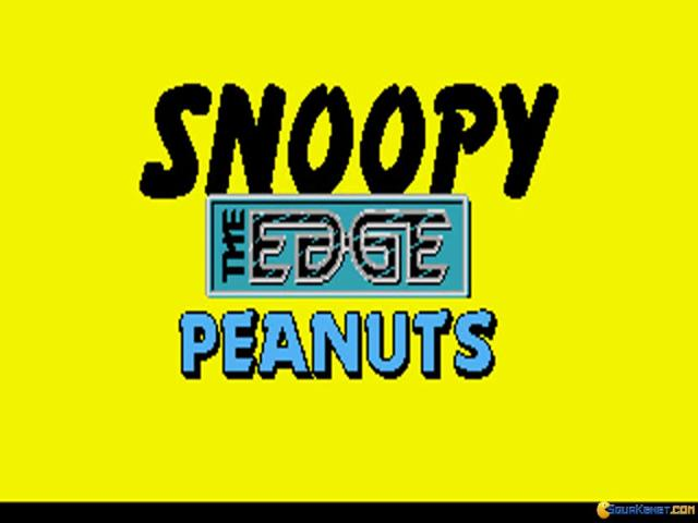 Snoopy & Peanuts - game cover