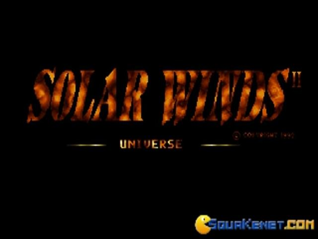 Solar Winds 2 - game cover