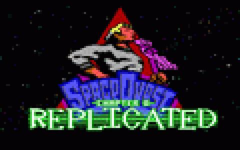 Space Quest Chapter 0: Replicated - title cover