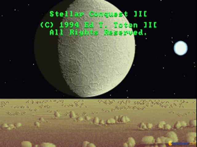 Stellar Conquest III - title cover