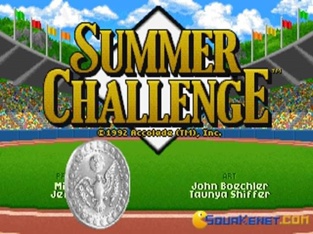 The Games: Summer Challenge - title cover