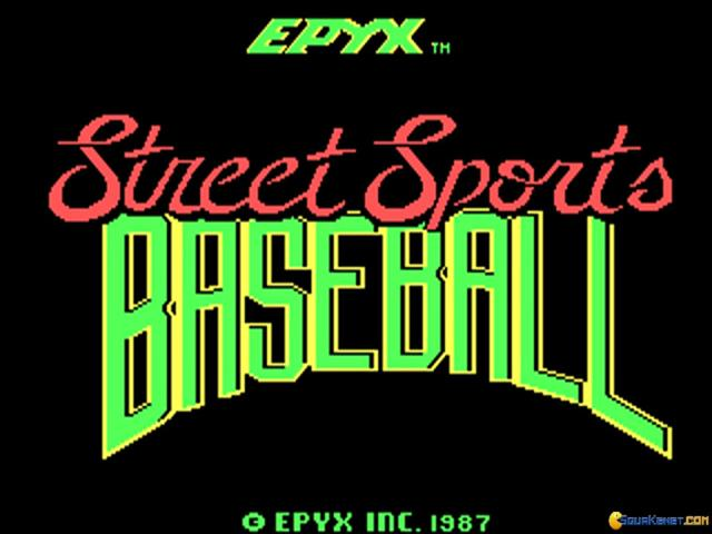 Street Sports: Baseball - title cover