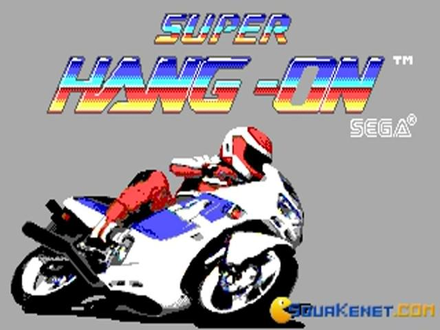 Super Hang-On - game cover
