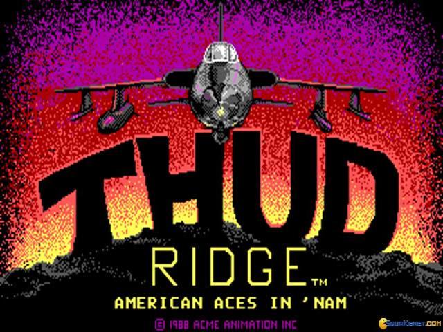 Thud Ridge - title cover