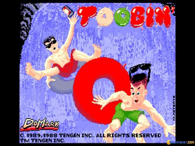 Toobin' - game cover