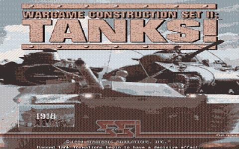 Wargame Construction Set 2: Tanks! - title cover