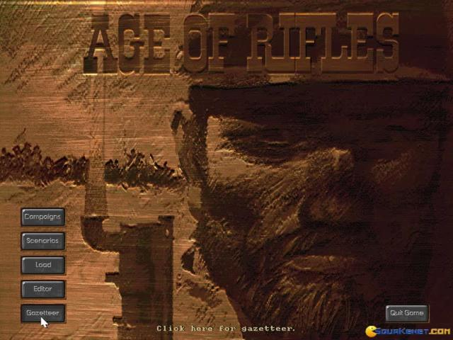 Age of Rifles 1846 - 1905 - title cover