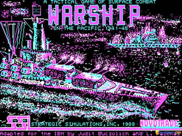 Warship - title cover