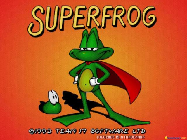 Superfrog - title cover
