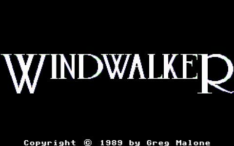Windwalker - title cover