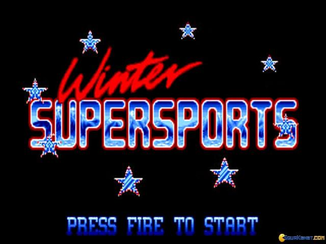Winter Supersports 92 - game cover