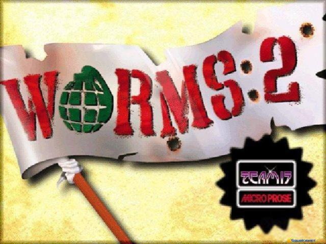 Worms 2 - game cover