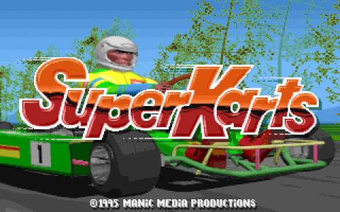 Super Karts - title cover