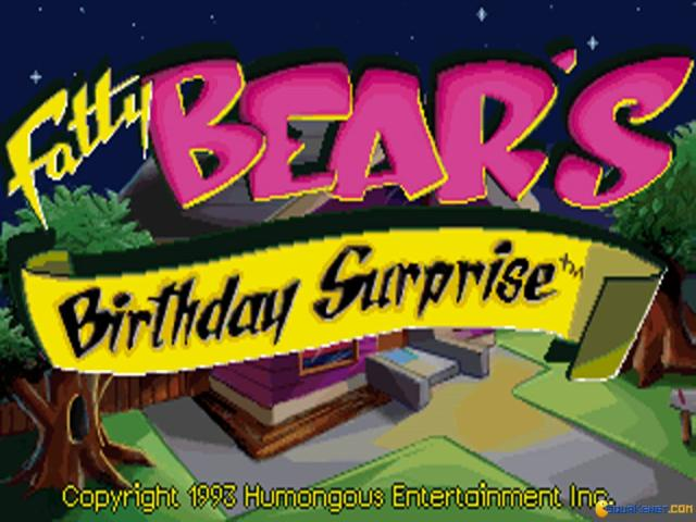 Fatty Bears Birthday Surprise - title cover