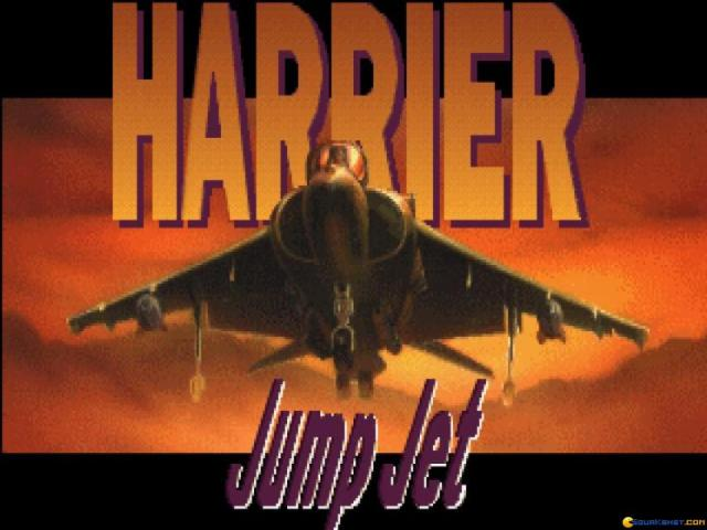 Harrier Jump Jet - title cover