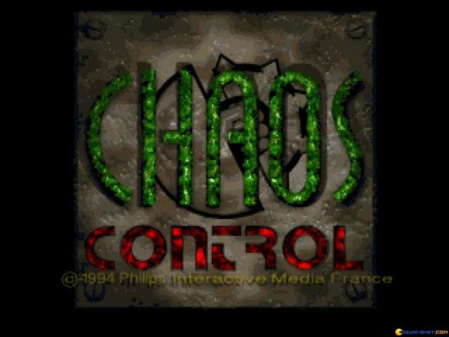Chaos Control - title cover