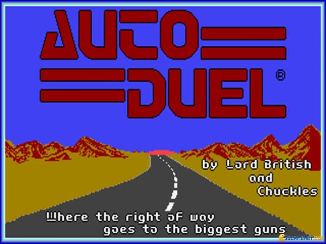 Auto Duel - game cover