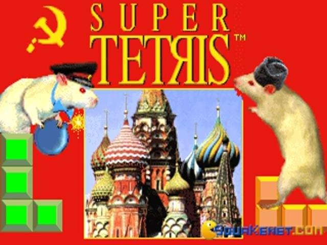 Super Tetris - title cover
