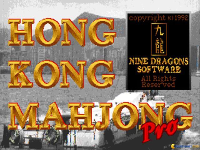Hong Kong Majhong - title cover