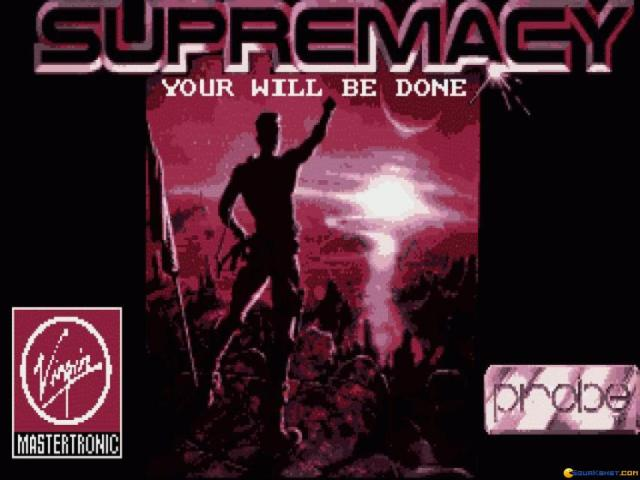 Supremacy - title cover