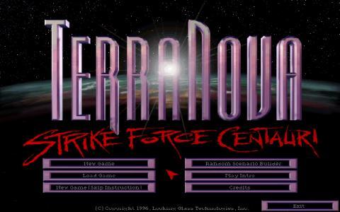 Terra Nova: Strike Force Centaury - game cover