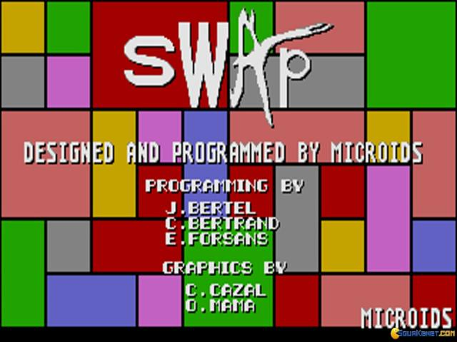 Swap - game cover