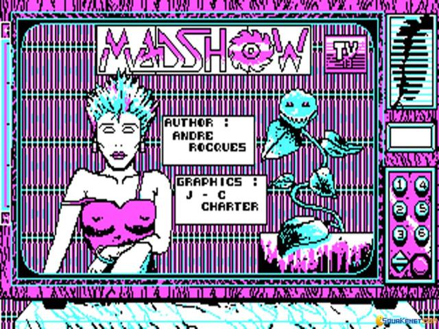Mad Show - game cover